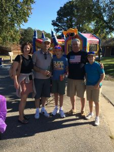 Several Neighbors Enjoying Fall Fest 2016