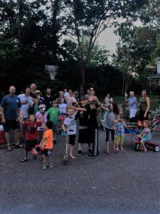 Nohe driveway social june 2017